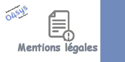 Informations légales