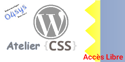 CSS – Atelier cache-cache