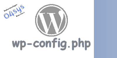 Configuration : wp-config.php